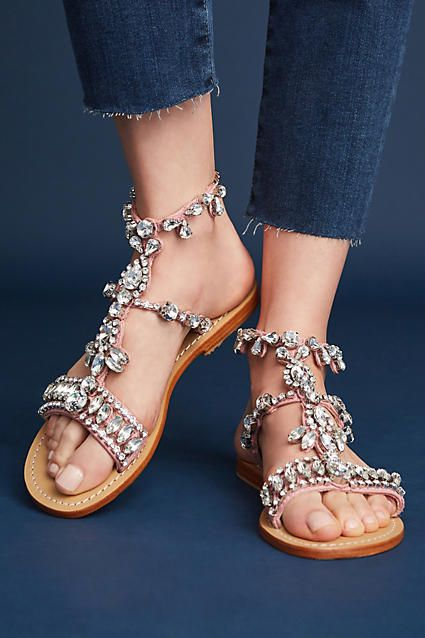 d2752a3ccc8b6 Mystique Gemstone Gladiator Sandals