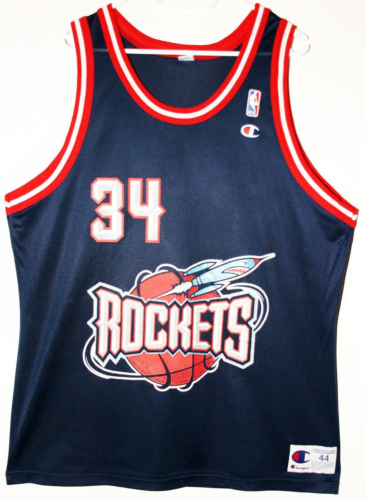 low priced f8f2f 468ad 34 hakeem olajuwon jersey ebay