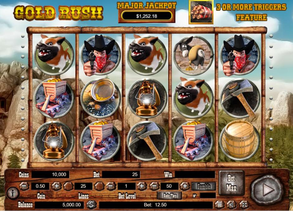 Spiele Gold Rush (Habanero) - Video Slots Online
