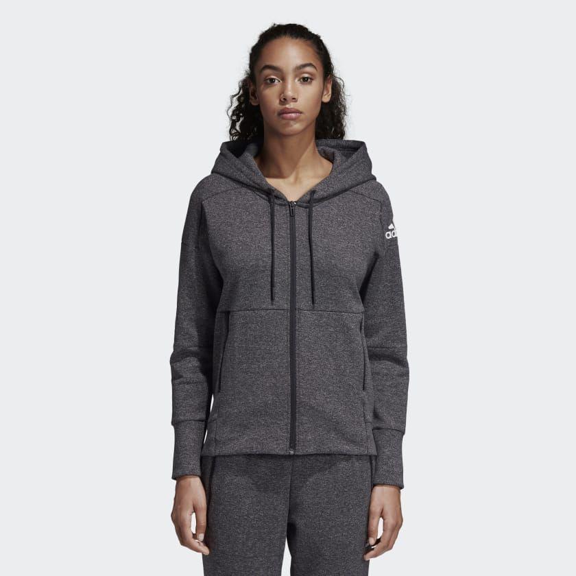 ID Stadium Hoodie   Grey hoodie, Hoodies, Sport outfits