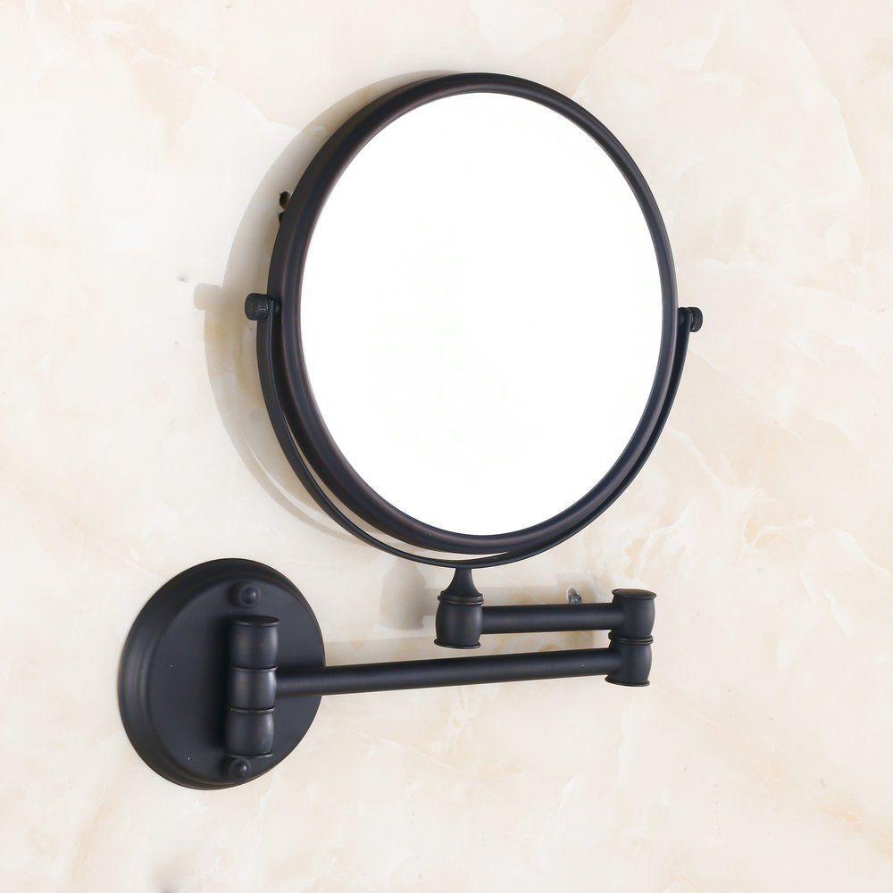 Amazon Com Hiendure 8 Inch Two Sided Swivel Wall Mount Makeup