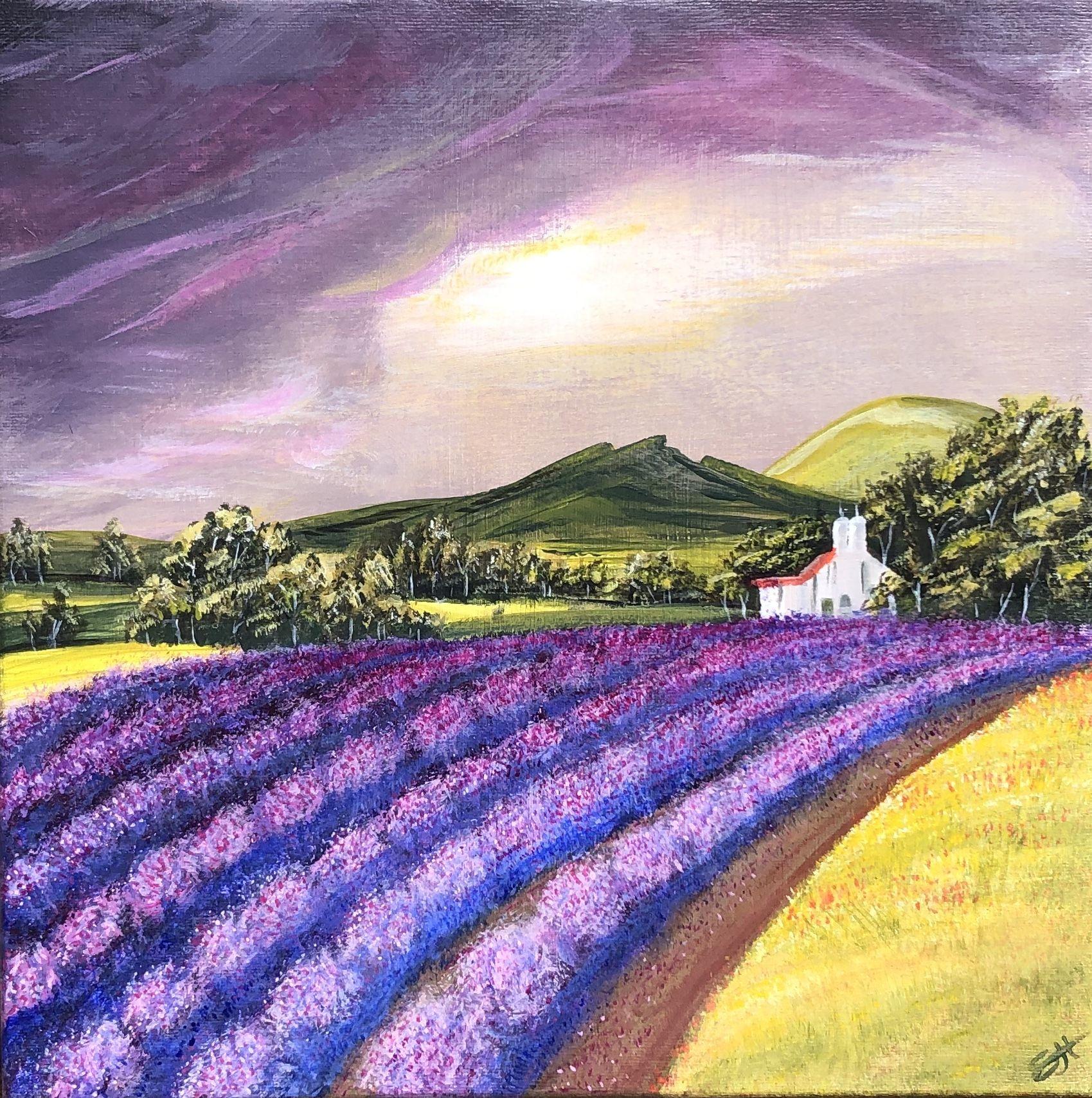 Acrylic On Canvas Dark Background Bright Foreground Dark Backgrounds