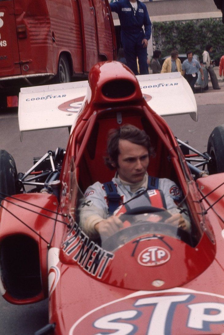 Niki Lauda (AUT) (STP March Racing Team), March 721X - Ford Cosworth DFV V8 (finished 16th) Monaco Grand Prix, 1972.