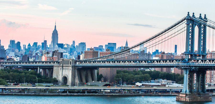 Manhattan Bridge by Hafid Halhol on 500px