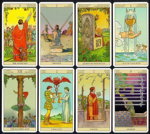 The Tarot of the New Vision | Tarot, Tarot card decks, Deck of cards