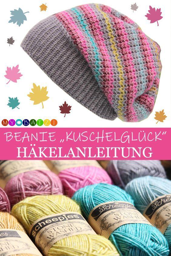 Photo of Häkelanleitung Beanie Kuschelglück – alle Größen – Kleiner Balkon Ideen