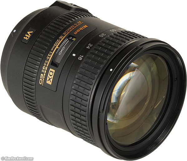 Nikon 18 200mm Vr Ii Telephoto Zoom Lens Nikon Zoom Lens