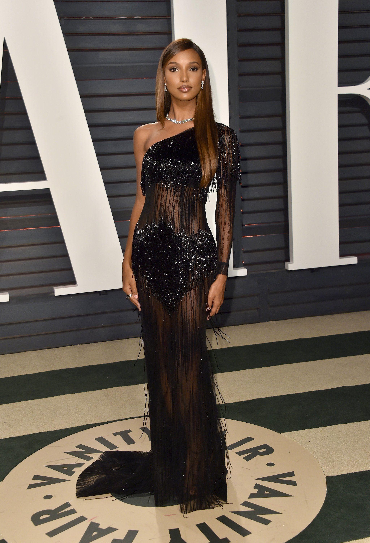 14aafeab72 Jasmine Tookes Vanity Fair Oscar Party