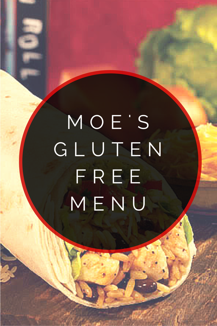 graphic about Moes Printable Menu identify Moes Southwest Grill Gluten Absolutely free Menu Gluten No cost Instantaneous