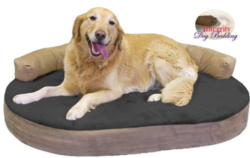 Large Orthopedic Memory Foam Joint Relief Bolster Dog Bed Licorice Integrity Bedding Http Www Amazo Orthopedic Dog Bed Best Orthopedic Dog Bed Dog Pet Beds