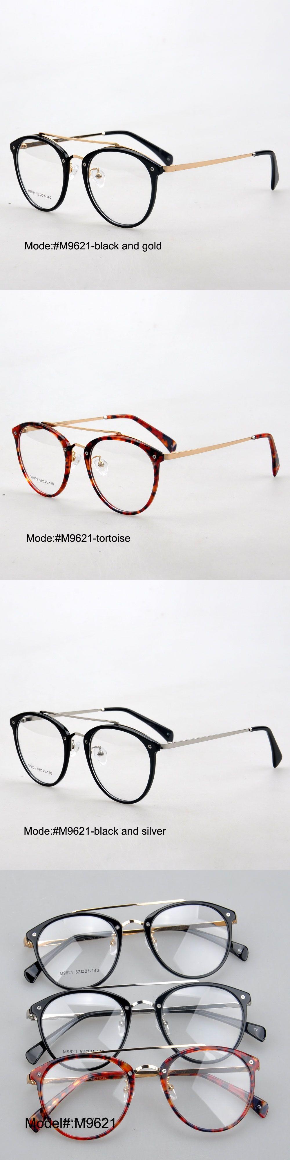 MY DOLI M9621 full rim unisex acetate and metal combination RX ...