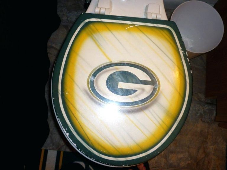 Awesome Great Green Bay Packers Bathroom Set