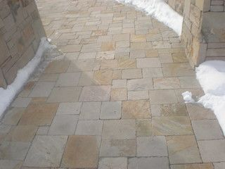 Utah Blonde Sandstone Pavers Salt Lake City By Npw Stone Masonry