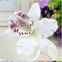 Storczyk Orchidea Kwiat We Wlosy Spinka Slub Bialy 6118804719 Oficjalne Archiwum Allegro Flower Hair Accessories Hair Accessories For Women Bohemia Hair