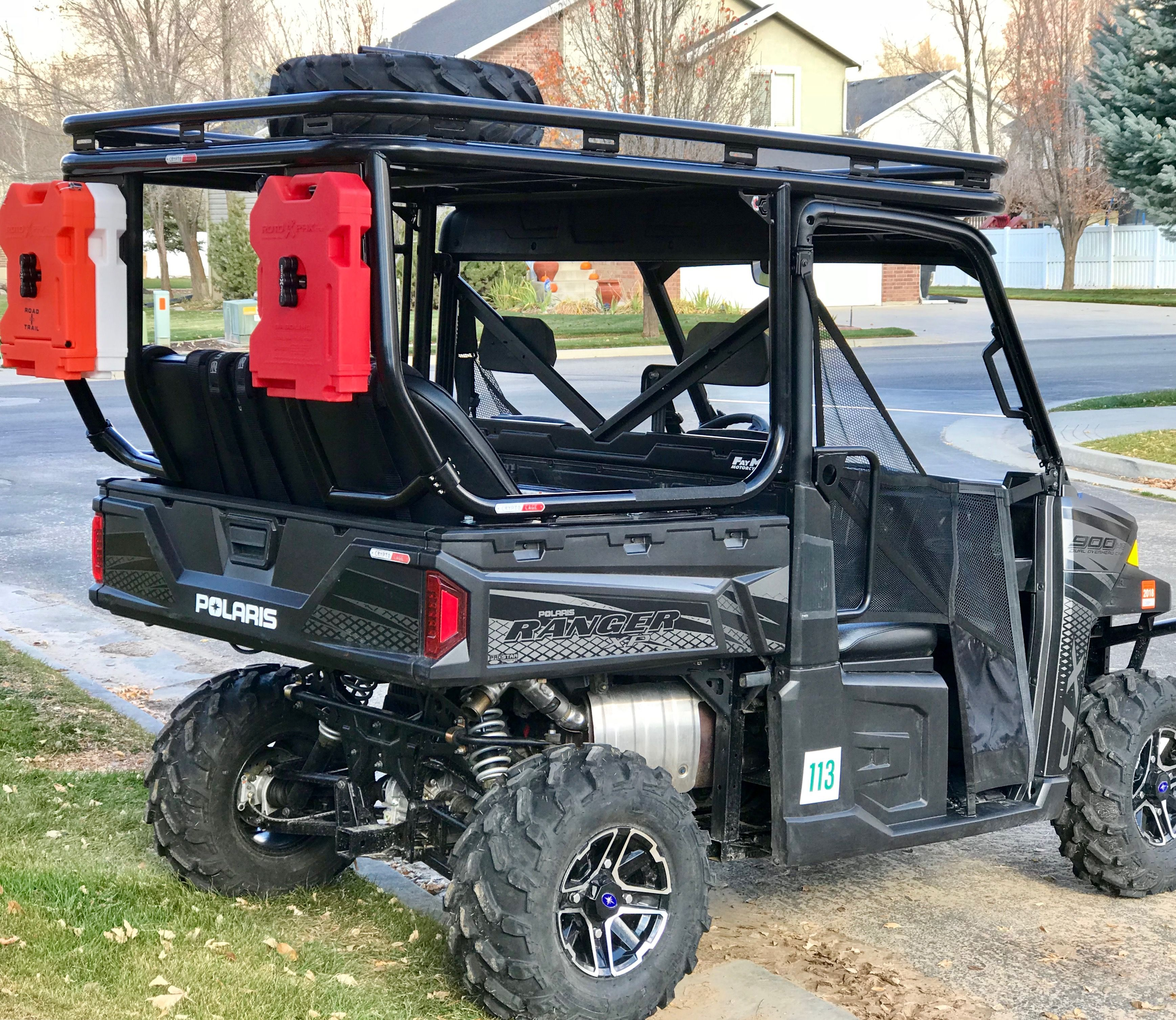 Cryptocage Introduces The Kong Cage For The Polaris Ranger 900 And 1000 The Kong Cage Has A Cab Polaris Ranger Polaris Ranger Accessories Polaris Ranger Rack