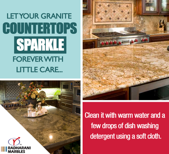 Let Your Granite Countertops Shine Forever By Cleaning It With