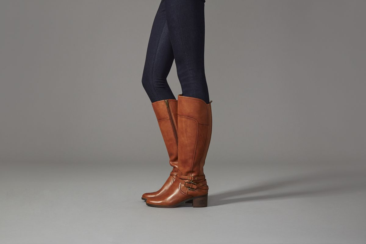 a743850a547 Kacee Leather Wide Calf Riding Boot   Marc Fisher   Forever Chic ...