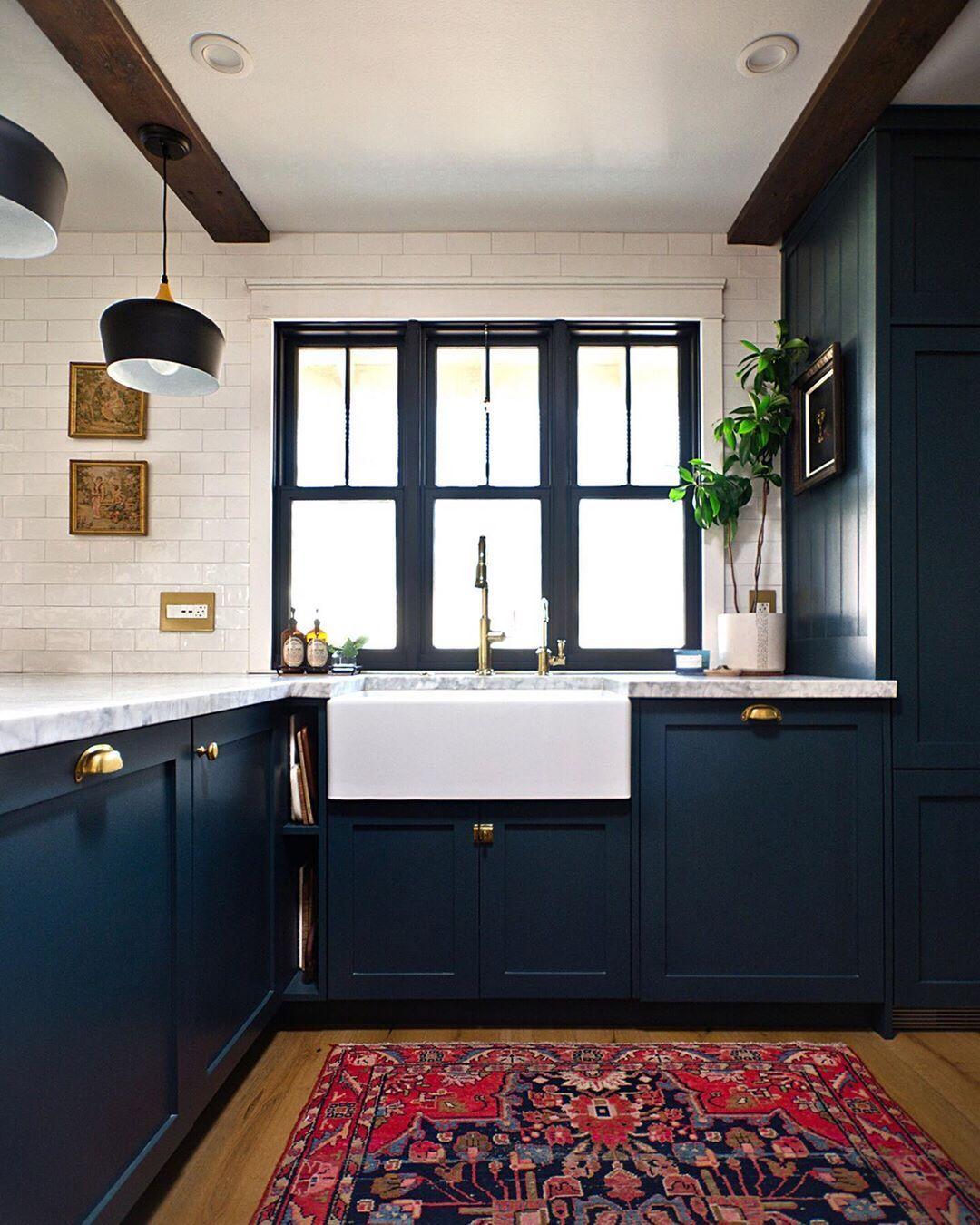 pin by kristy w on kitchen navy kitchen on kitchen decor navy id=25168