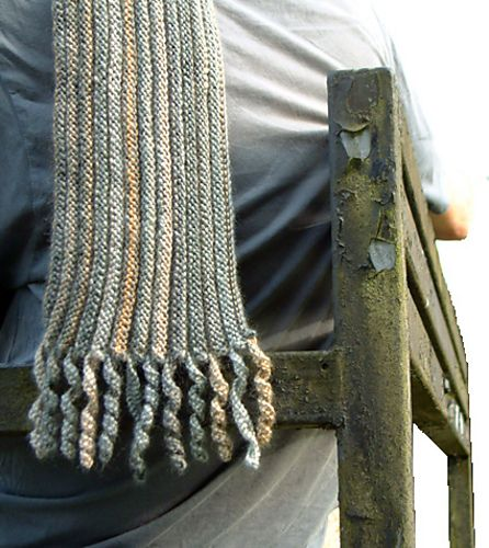 Photo of Preppie Scarf pattern by Anni Howard