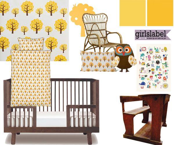 Retro kinderkamer retro look kinderkamer ideeen for Kinderkamer versiering