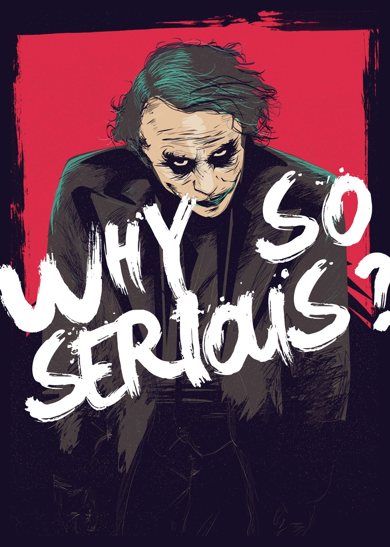 Daily Inspiration 1868 Joker art, Joker poster, Joker