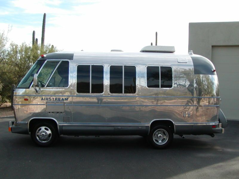 1977 Polished 20 Airstream Argosy Motorhome It Looks The The
