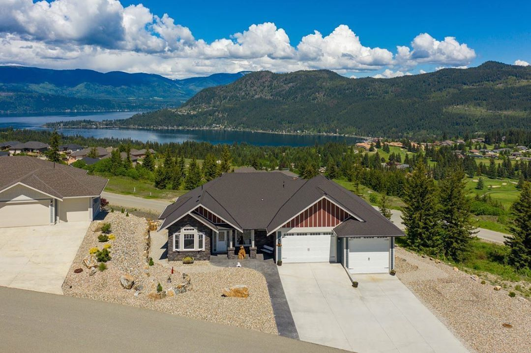 """Lynn Ewart on Instagram: """"#JUSTLISTED: Unsurpassed lake views in Blind Bay!  This Craftsman style home features easy maintenance with landscaping that is designed…"""""""