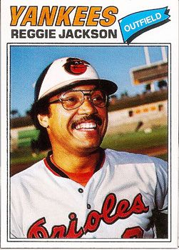 "Photo of This Reggie Jackson Baseball Card Is PROOF that His ""Lost"" Season Actually Happened – Wax Pack Gods"