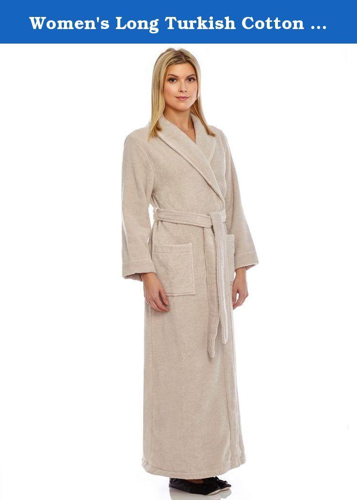 a2d837eb2da3 Women s Long Turkish Cotton Robe