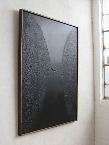 "Photo of collection / Julian Watts ""Black Painting (Feelers)"""