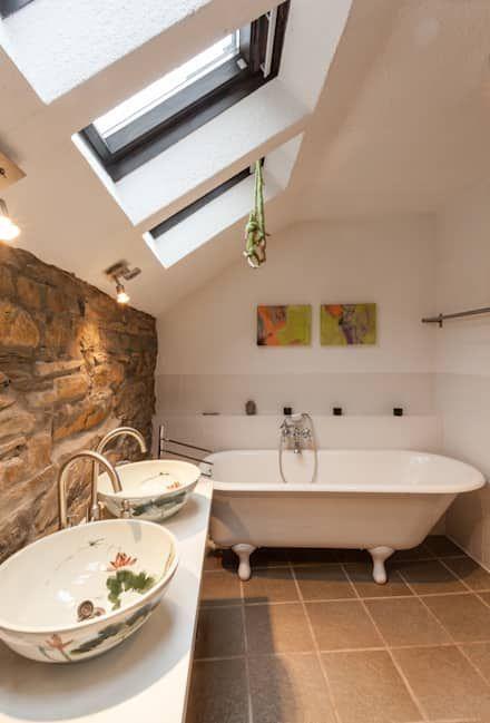 Badezimmer Ideen, Design und Bilder - bad landhausstil