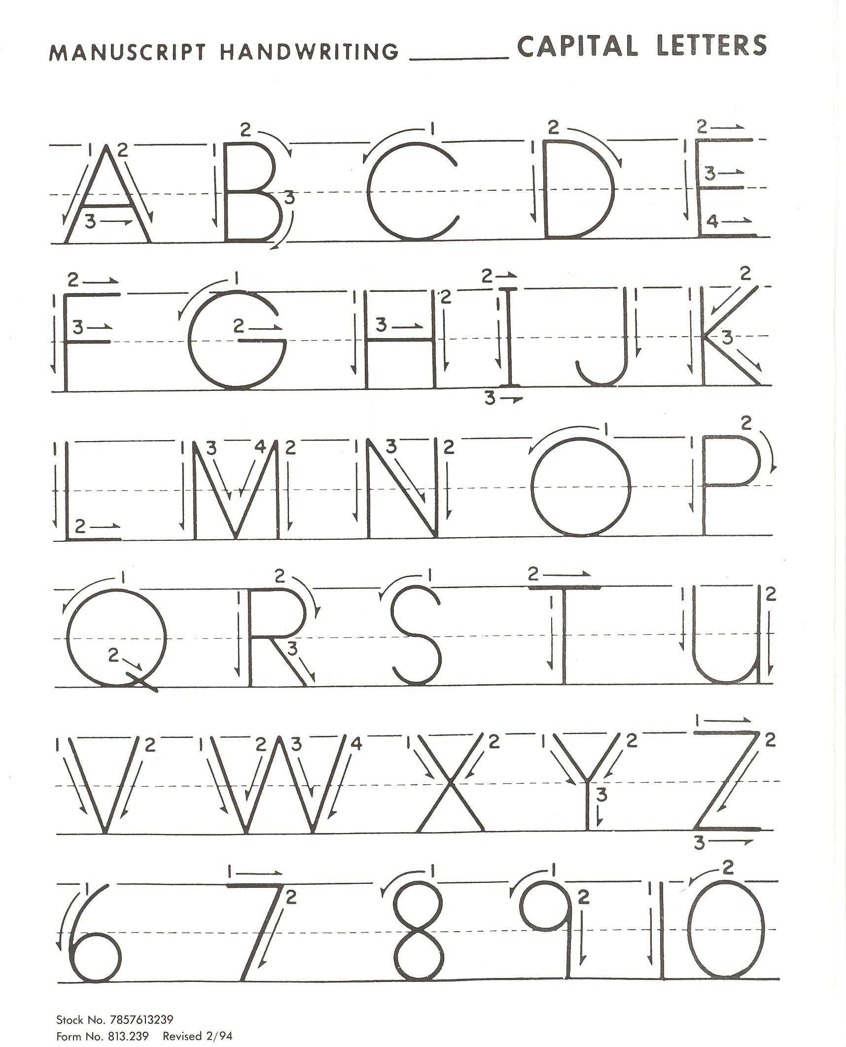 Worksheets Letter Practice letter practice for basic handwriting kiddo shelter kids shelter