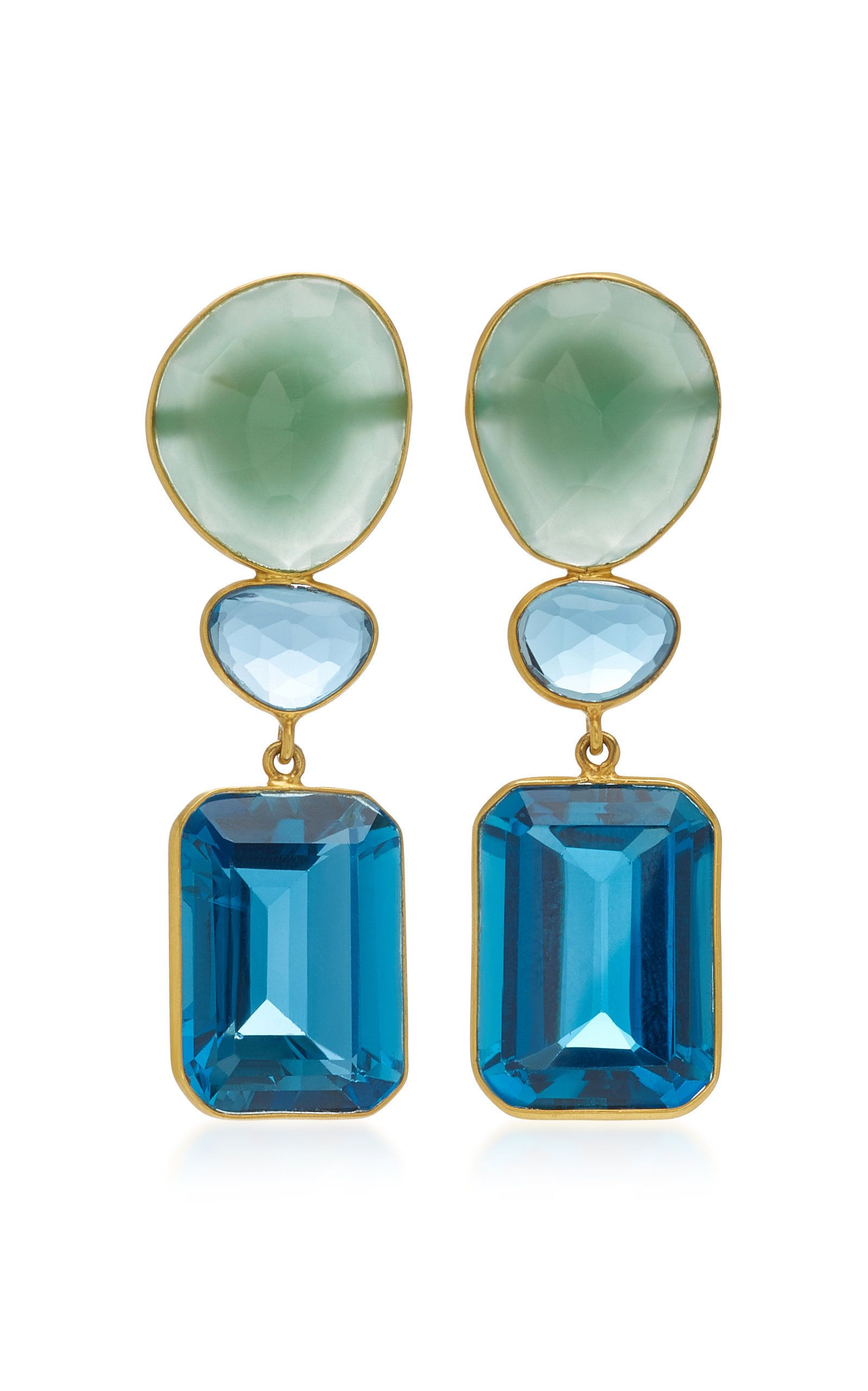 Click product to zoom june pinterest topaz earrings blue