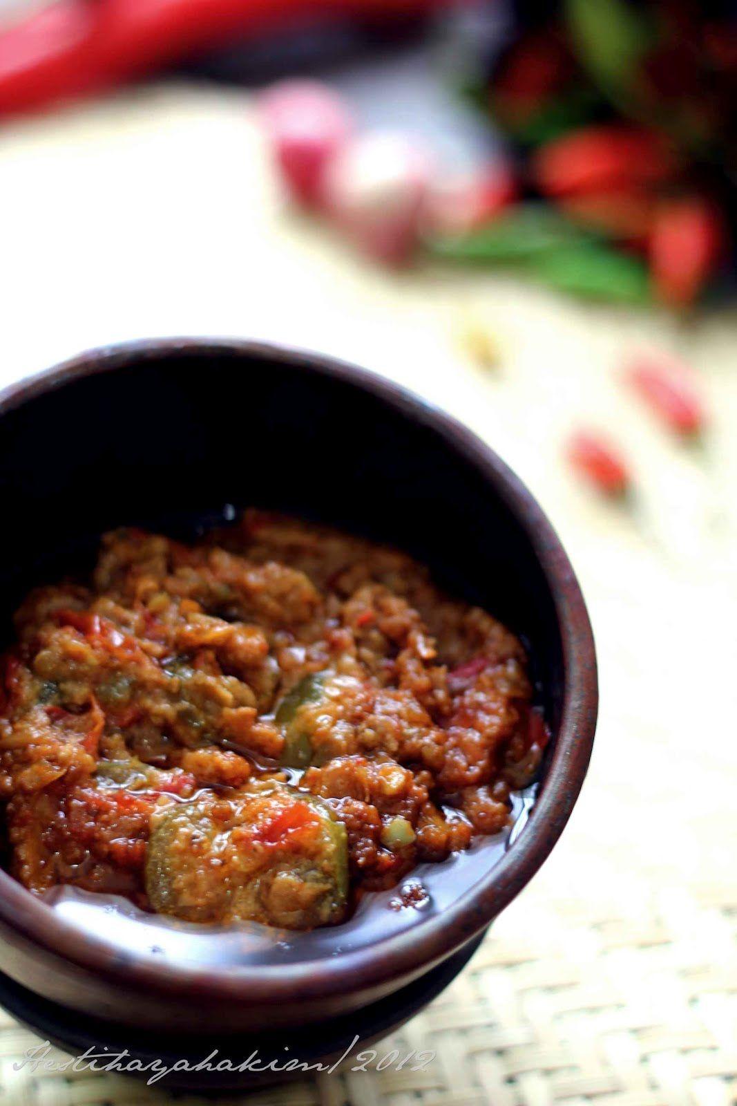 Hesti S Kitchen Yummy For Your Tummy Sambal Tai Minyak Resep Masakan Resep Masakan Asia Masakan