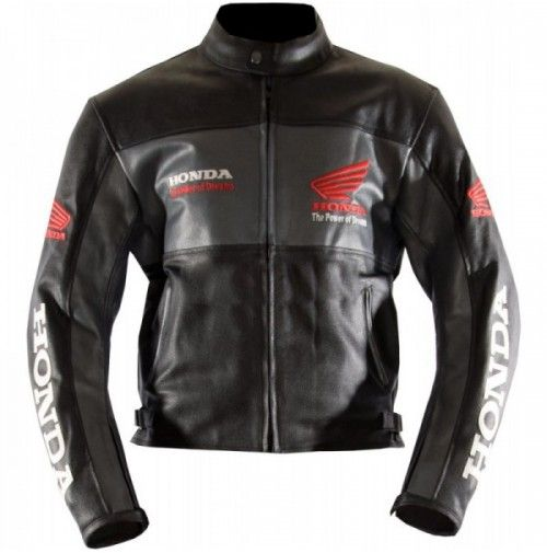 Honda Black Classic Wing Armord Leather Jacket Motorbike Armord Jacket Men S Leather Motorcycle Jacket Motorcycle Jacket Mens Black Leather Motorcycle Jacket