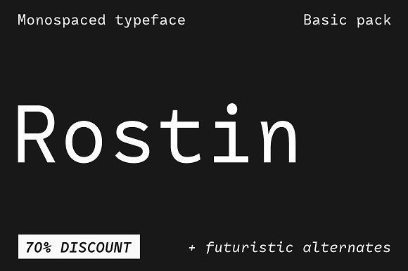 -70% OFF Rostin – Basic pack  @creativework247