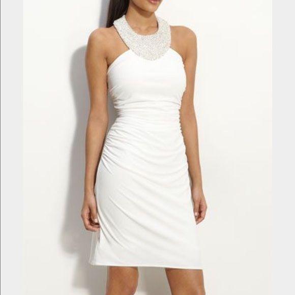 Pearl Halter Dress