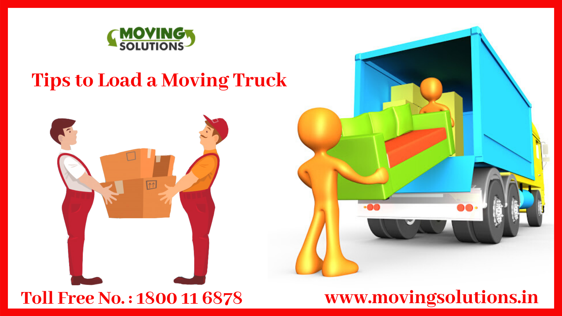 Movers to help load a truck