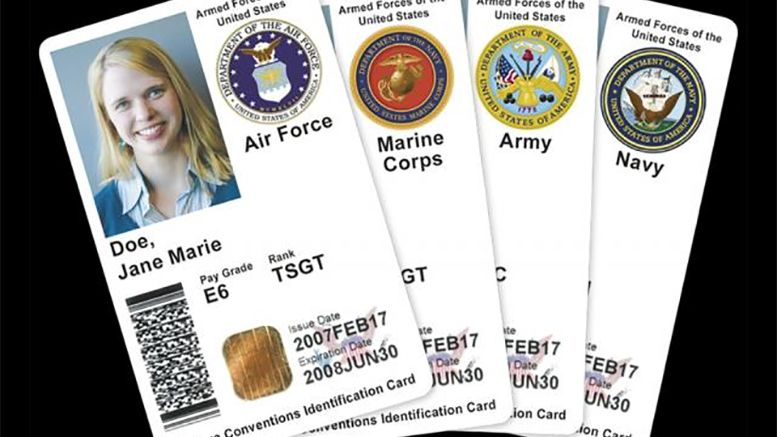 How To Get Your Dod Id Card Without Your Sponsor Business Card