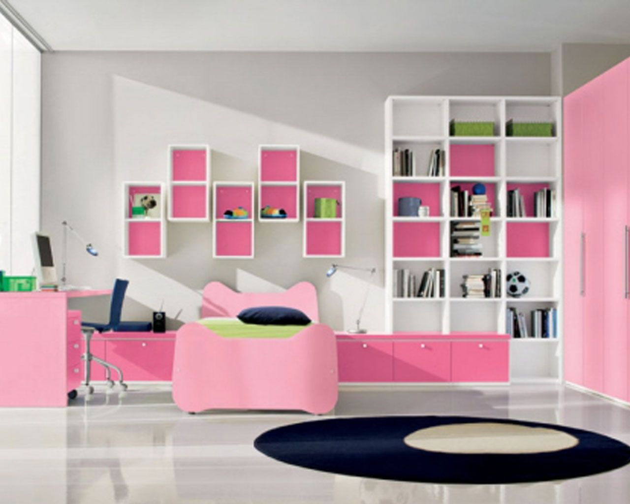 Black White And Pink Bedroom DesignsHouse Decor