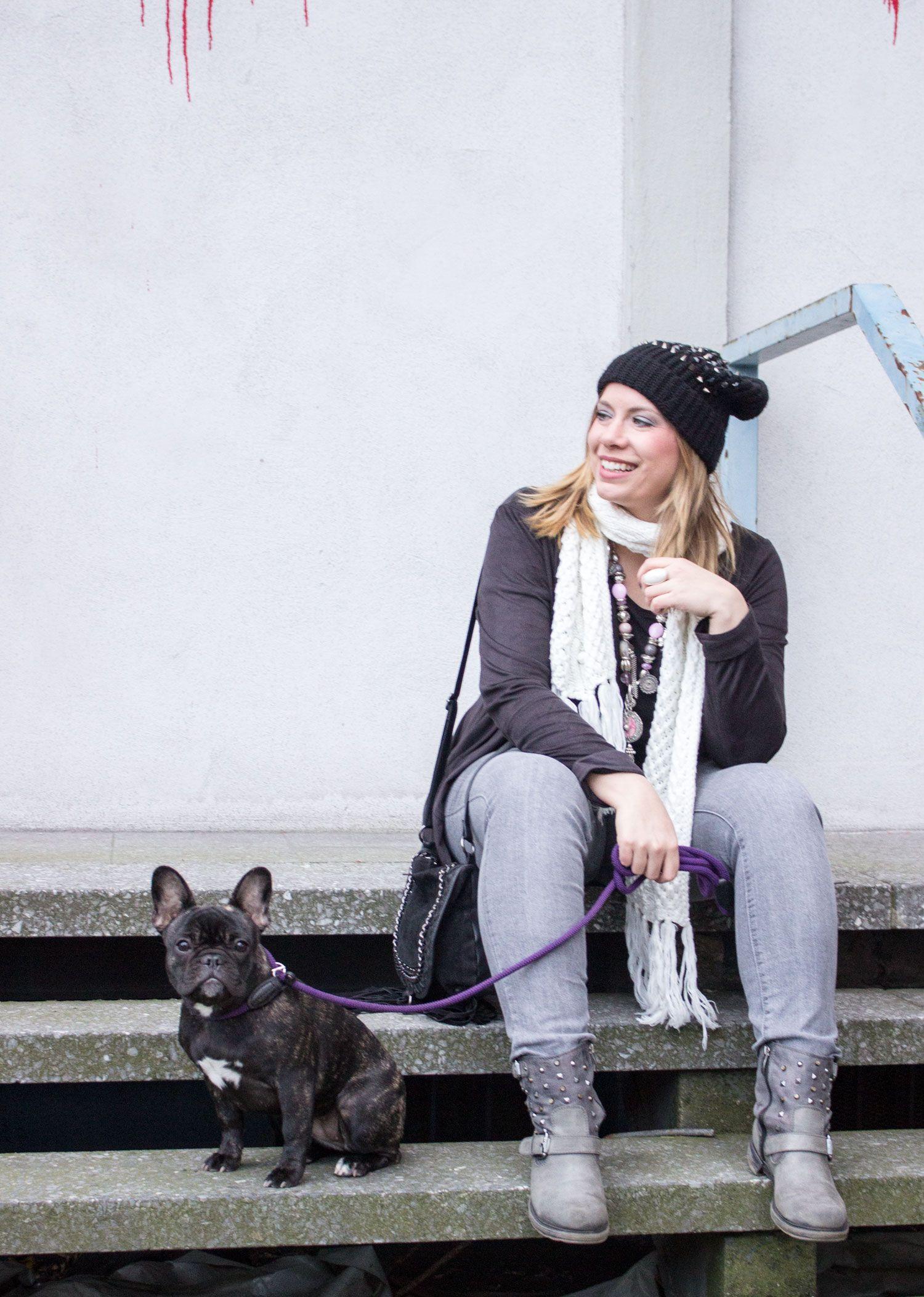 Streetstyle with Leather Fringe Jacket by Expresso Fashion