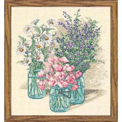 Dimensions® Wildflower Trio Counted Cross-Stitch Kit CAD 29.69