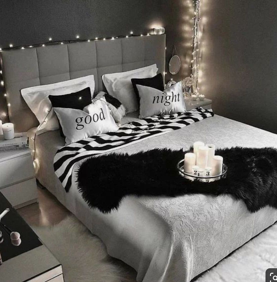 The Black And White Concept Bedroom Decor Room Ideas Bedroom Master Bedrooms Decor