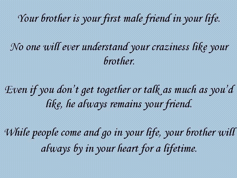 Quotes About Brothers Death