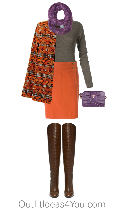 How To Wear Pumpkin For A Toned Winter