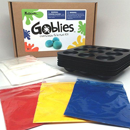 Goblies hand thrown paintballs non toxic bio degradable goblies hand thrown paintballs non toxic bio degradable painless do it yourself throwable paintball kit kit makes 108 paintballs solutioingenieria Image collections