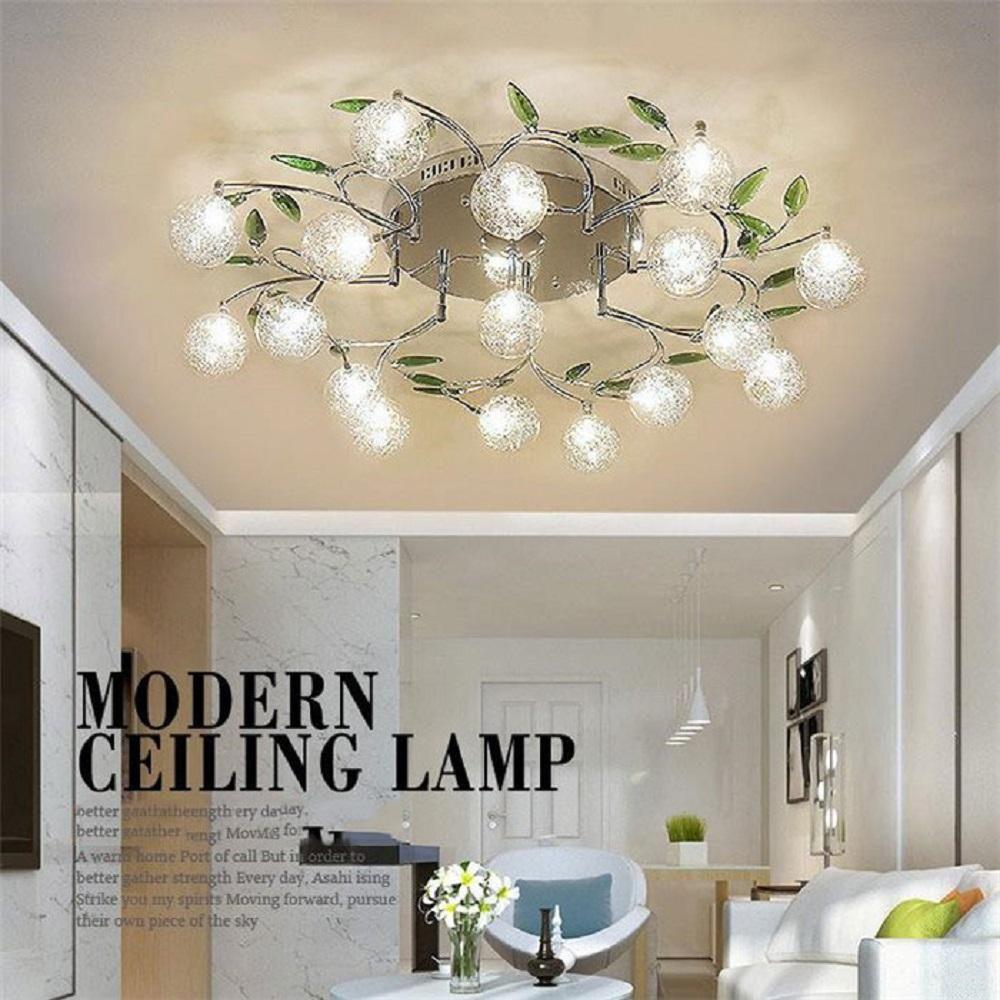 Visit to Buy] AC110V 220V modern Art design LED chandelier