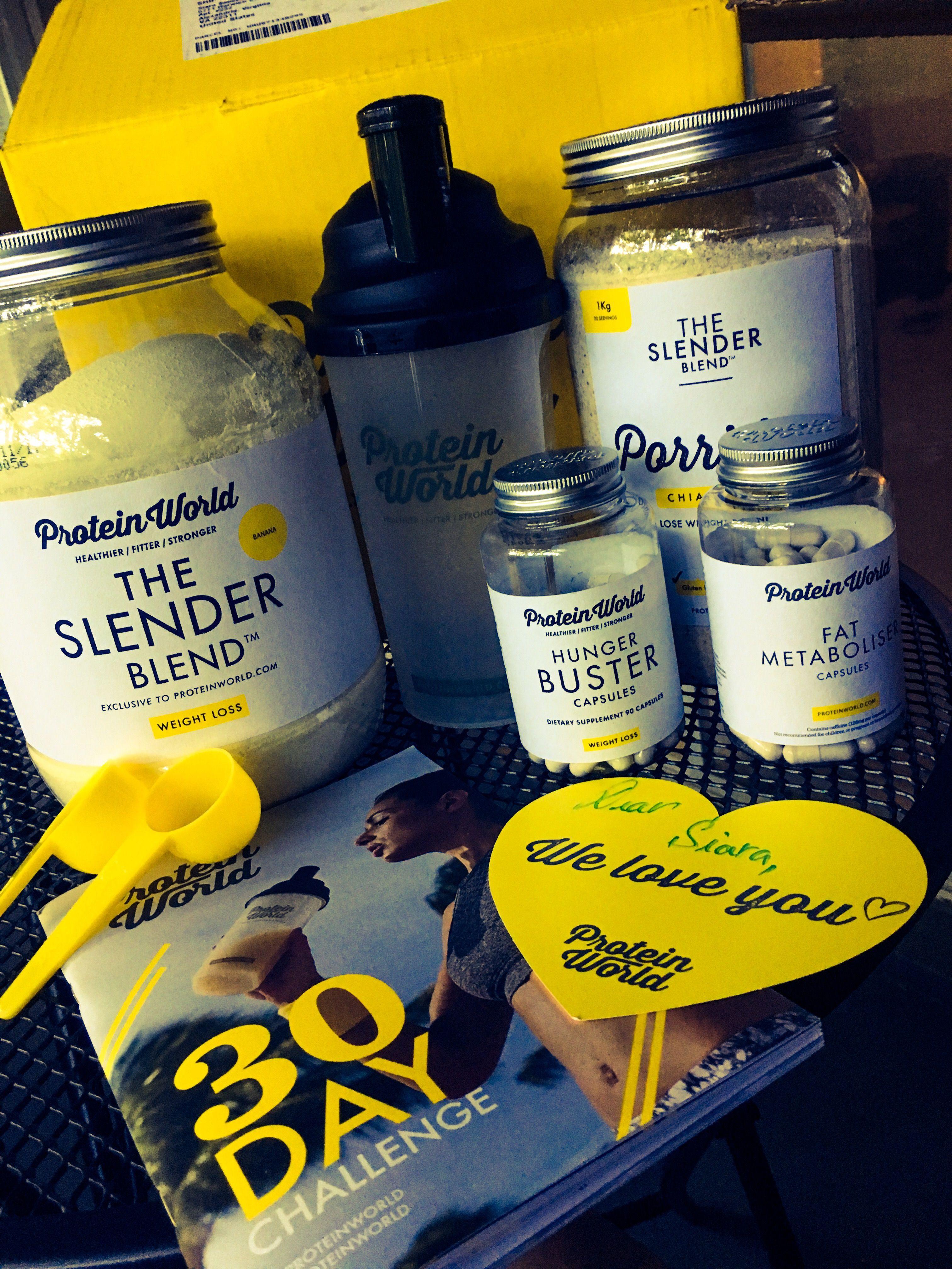 Protein World 30 Day Slender Blend Challenge Protein Health Diet Blend