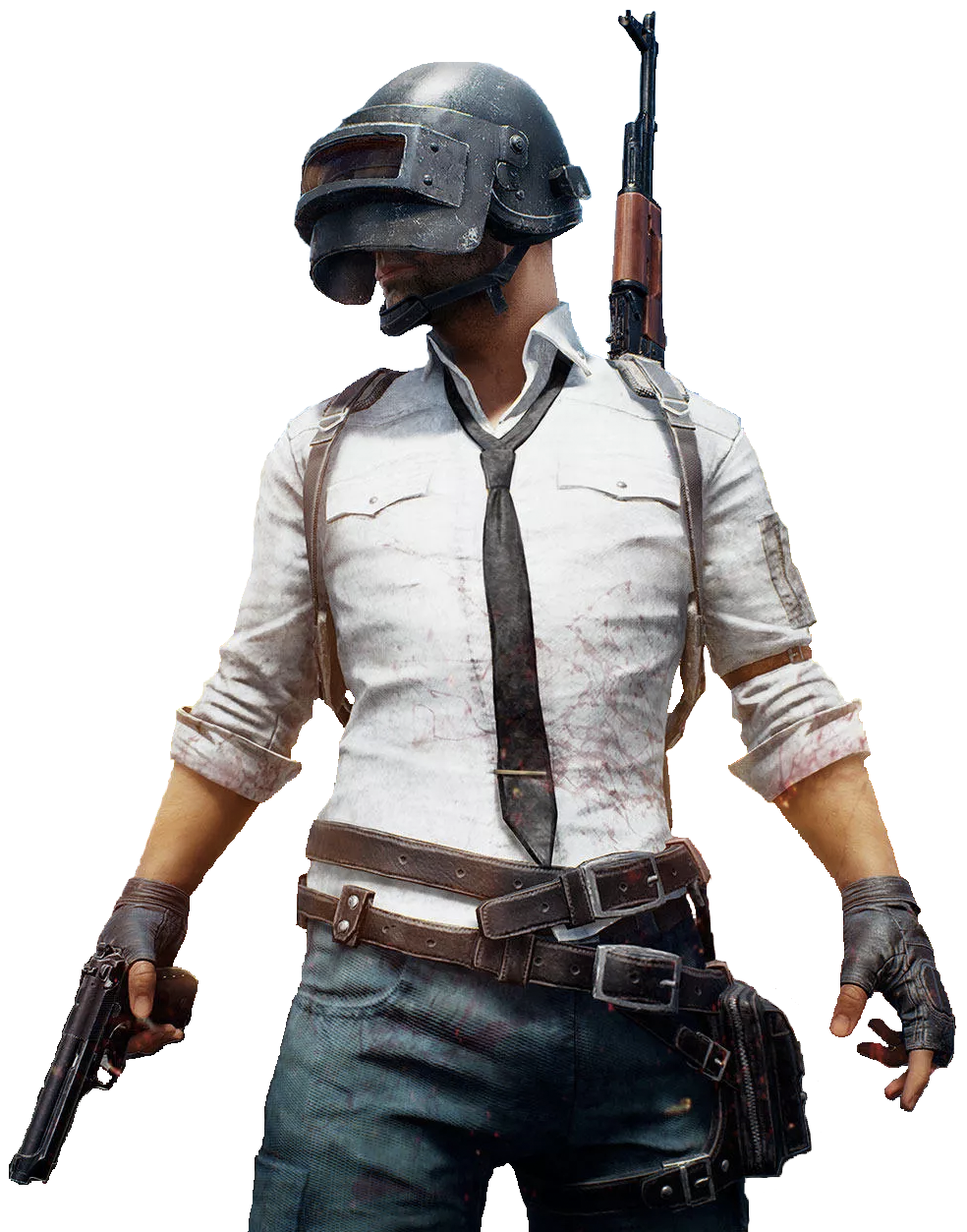 Pubg Guy Cutout PlayerUnknown Battlegrounds Logo Png