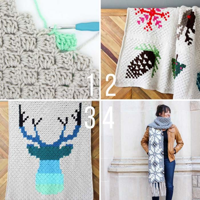Video Tutorial: Corner to Corner Crochet for Total Beginners ...